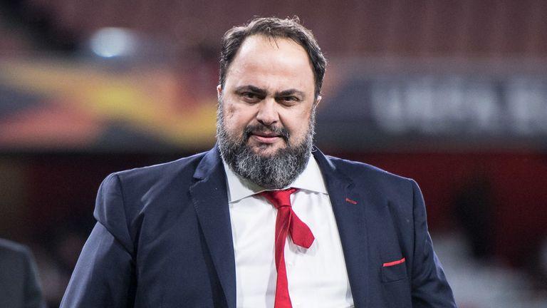 Nottingham Forest's owner Evangelos Marinakis tested positive for coronavirus