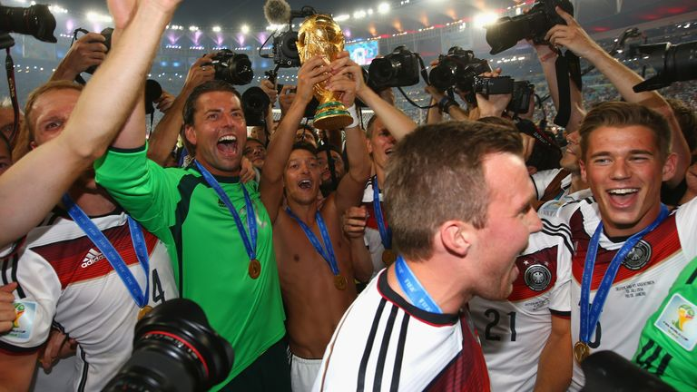 Ozil helped Germany win the 2014 World Cup