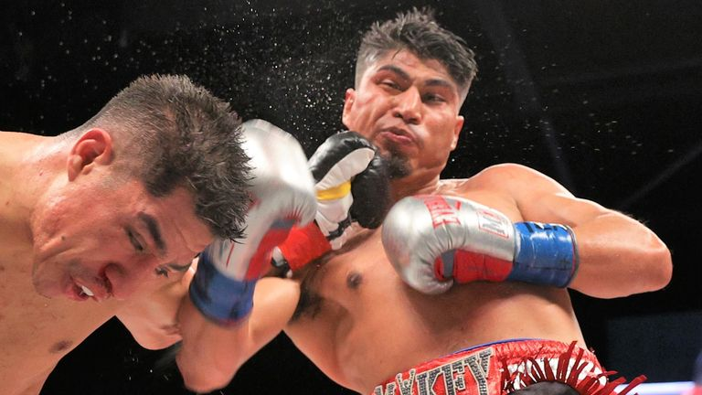 Mikey Garcia completed a points win over Jessie Vargas