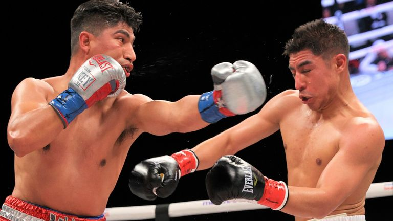 The Californian sealed victory on the scorecards