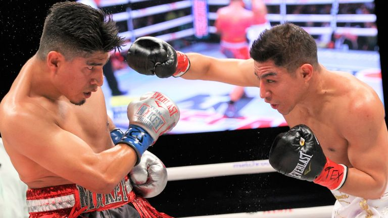 Vargas had made a lively start to the fight