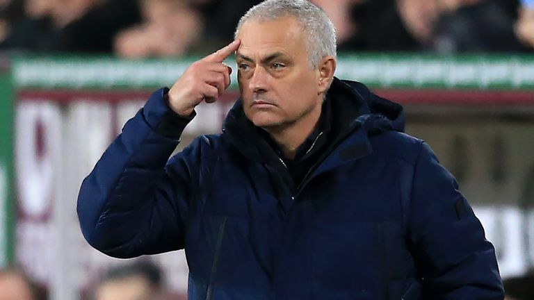 Jose Mourinho says Tottenham must get used to their 'new reality'
