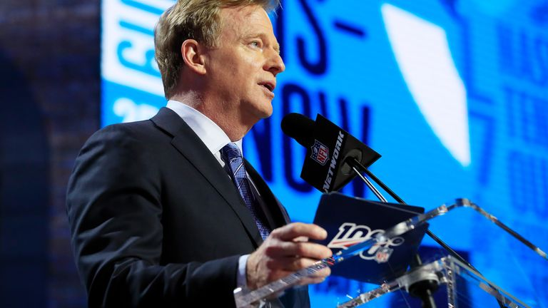 NFL commissioner Roger Goodell received unanimous approval from his executive committee to hold the draft as scheduled in April