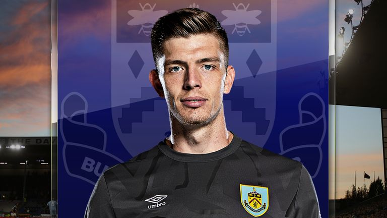 Burnley goalkeeper Nick Pope has been in good form this season