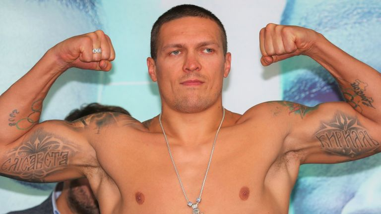 Undefeated Usyk wants to fight Anthony Joshua in 2021