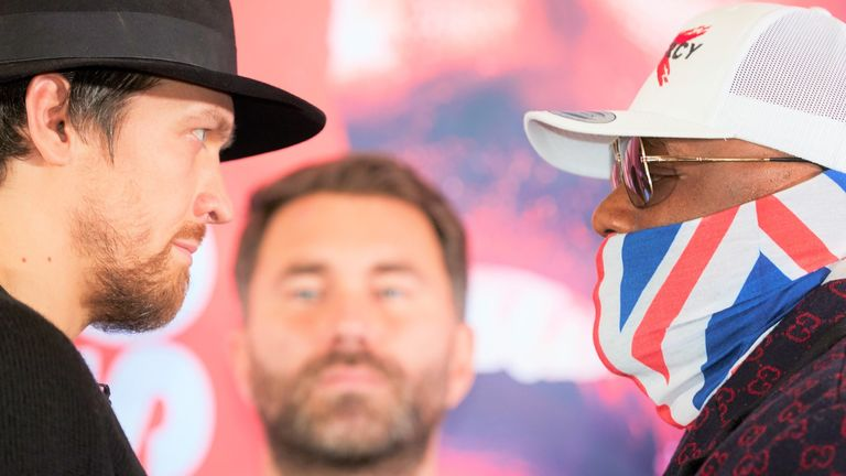 Usyk and Chisora are relishing their rescheduled heavyweight fight on October 31
