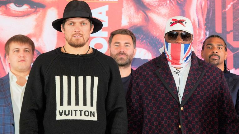 Usyk is risking his status as the WBO mandatory challenger