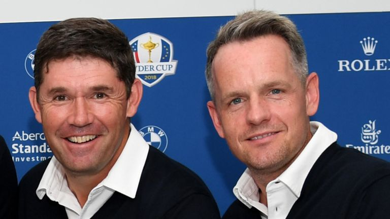 Harrington and vice-captain Luke Donald have an extra year to prepare