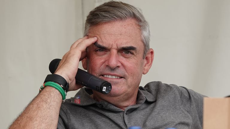 Paul McGinley feels golf is one of the easy sports in which to practice social distancing