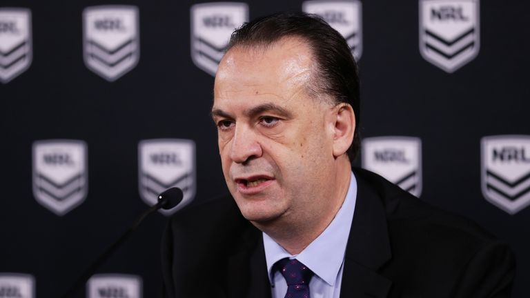 Peter V'Landys says the flight restrictions will not affect the NRL