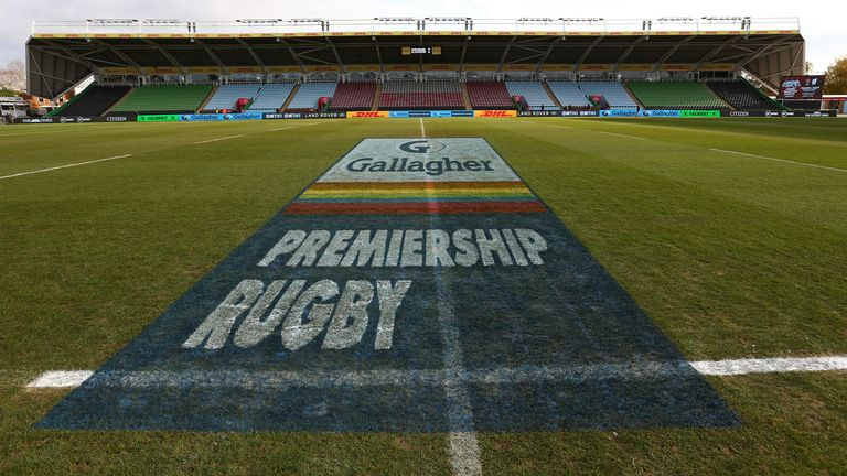 The resumption of the domestic rugby season in England remains uncertain