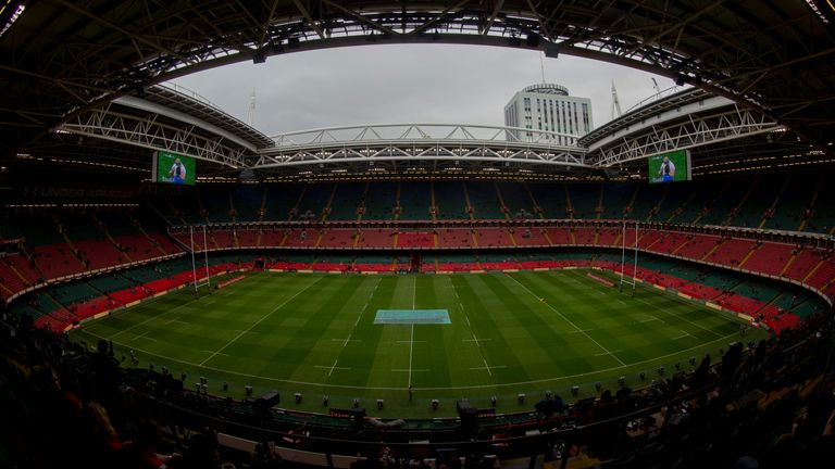 The Principality Stadium will be back in use by Wales in 2021