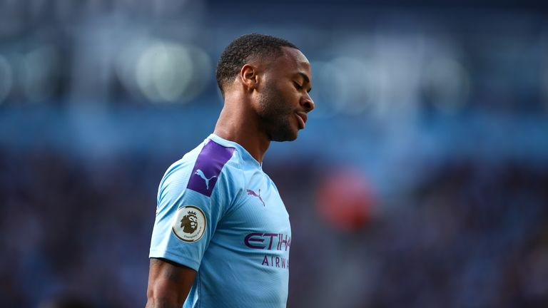 Sterling cuts a dejected figure after VAR rules out City's late winner against Spurs in August