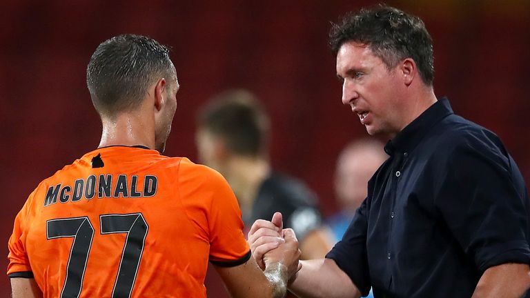 Fowler has been sharing striking advice with the likes of former Celtic forward Scott McDonald