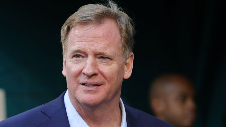 NFL Commissioner Roger Goodell wrote to all 32 teams