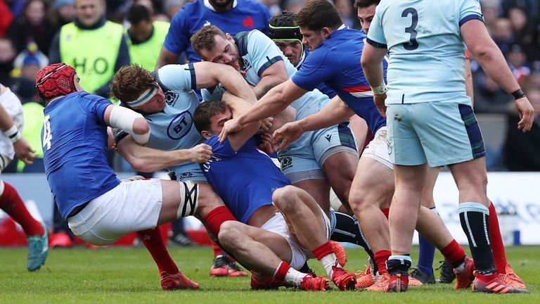 Scotland's forwards were laid the platform for their victory over France