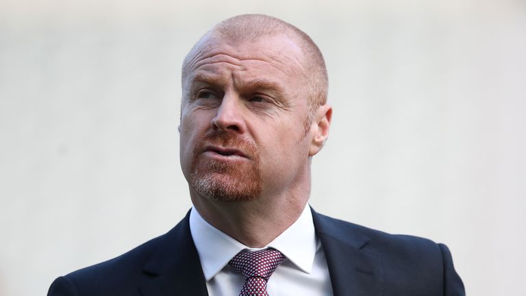 There are questions surrounding Sean Dyche's future at Burnley after a reported rift with the club's board