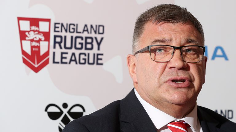 Shaun Wane has plans in place following the cancellation of England's Ashes series