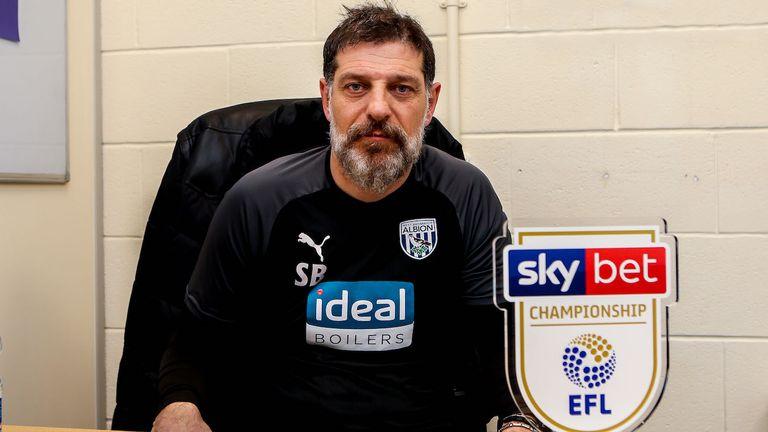 Bilic fue el manager del Campeonato Sky Bet del mes de febrero