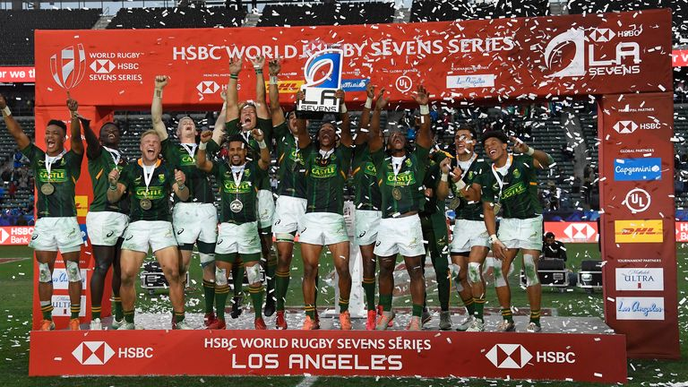 Fiji to face South Africa in LA 7s final