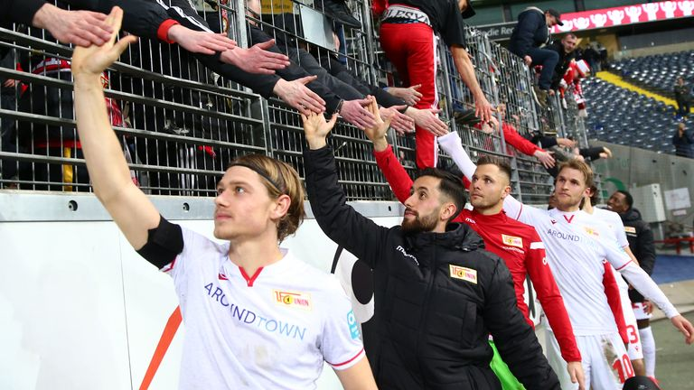 Union Berlin currently sit 11th in their debut season in the Bundesliga