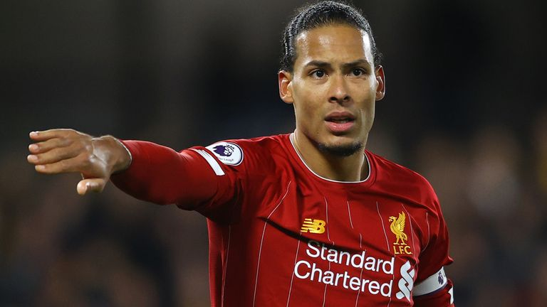 Cannavaro says he messaged Virgil van Dijk to congratulate him on his second place in the Ballon d'Or standings