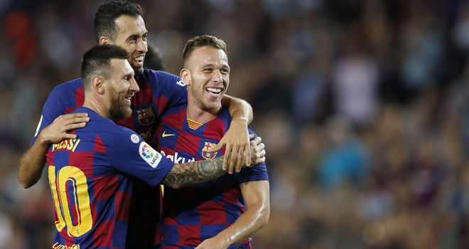 Arthur had hoped to stay at Barcelona and fight for his place under Quique Setien