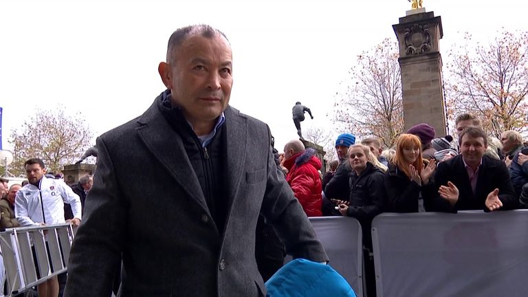 England head coach Eddie Jones talks about his targets after agreeing a new deal until 2023.