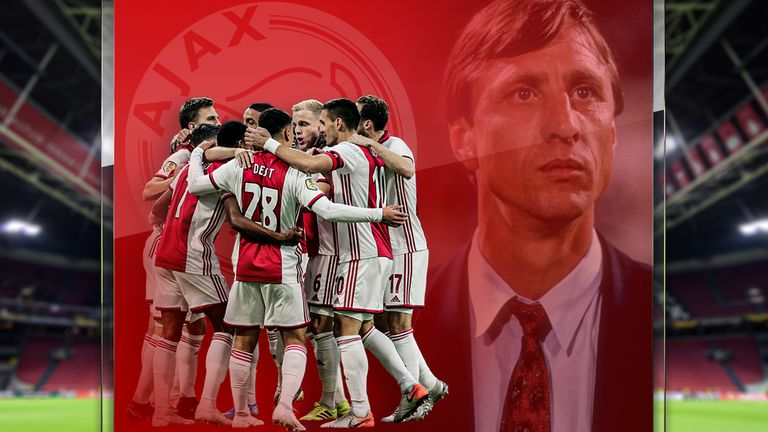 The influence of Ajax and Johan Cruyff continues to endure in football