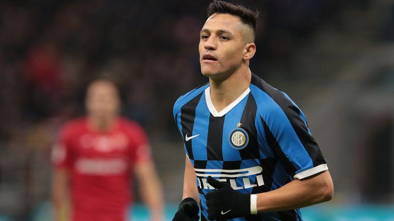 Alexis Sanchez has spent the 2019/20 season on loan at Inter Milan