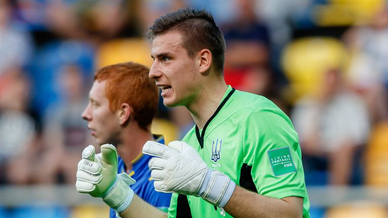 Andriy Lunin will provide competition for Thibaut Courtois next season