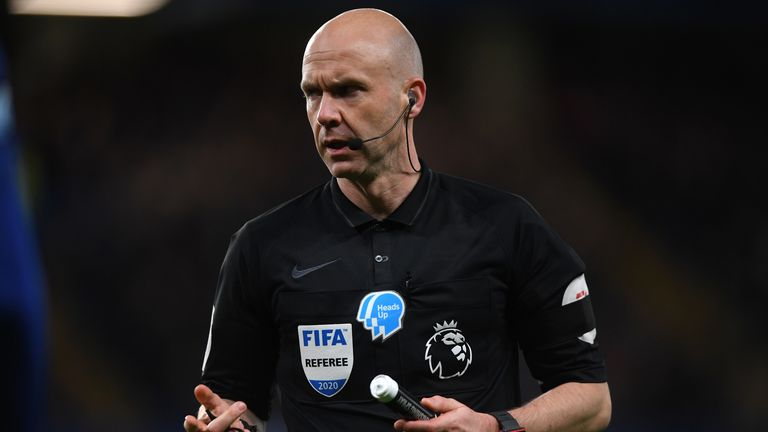 Premier League referee Anthony Taylor has become an NHS volunteer