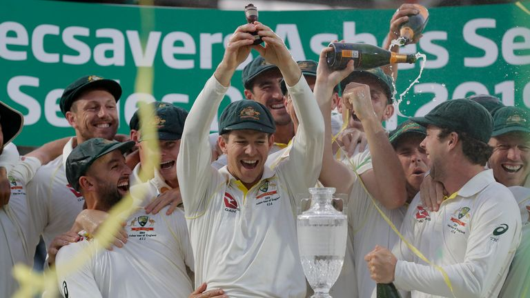 After retaining the Ashes in England last year, Australia are top of the Test rankings