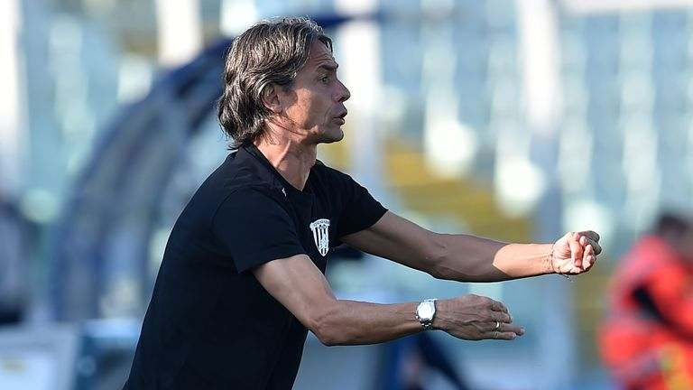 Inzaghi has maintained focus at Benevento even with the club well clear