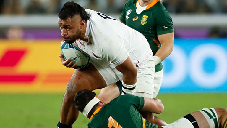 England number 8 Billy Vunipola played in the defeat to South Africa in the 2019 World Cup final