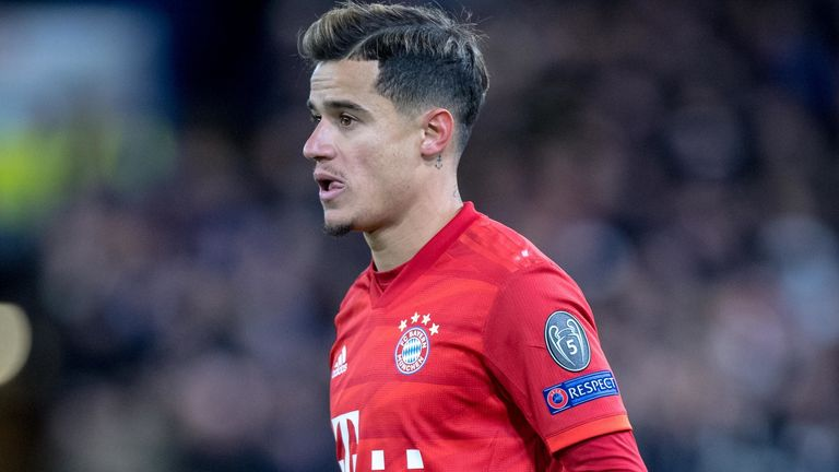 Philippe Coutinho has spent the past season on loan at Bayern Munich, but the German club will not be making the deal permanent