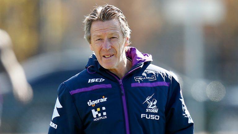 Melbourne Storm head coach Craig Bellamy