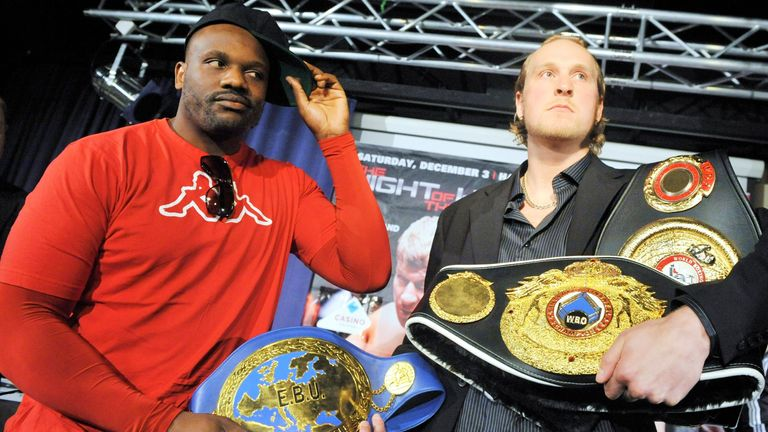 Chisora and Helenius put their world title ambitions at stake