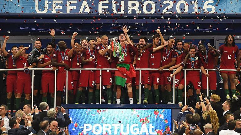 Soares was part of the Portugal team who won Euro 2016