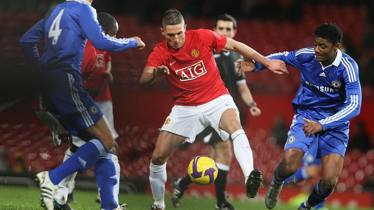 Macheda joined Man Utd as a youth player in 2007