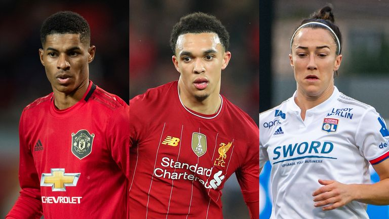 Marcus Rashford, Trent Alexander-Arnold and Lucy Bronze will take part in a FIFA 20 tournament