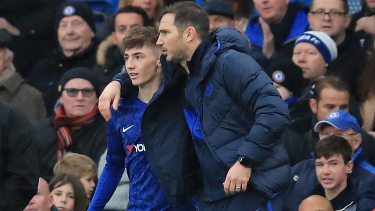 Speaking on The Football Show, Frank Lampard explains how Billy Gilmour burst onto the scene for Chelsea