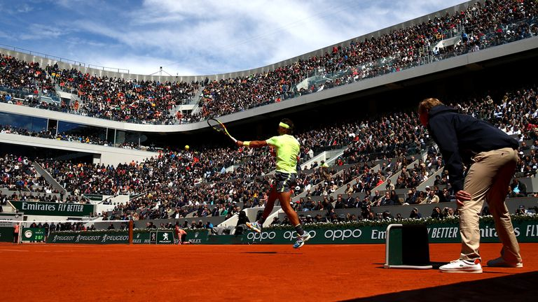 Rafael Nadal will be aiming to win his 13th French Open title later this year