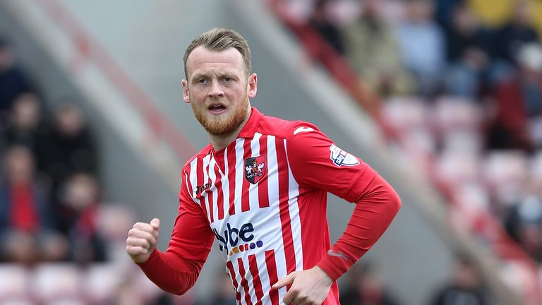 Jake Taylor picked up the phone and asked to return to Exeter City