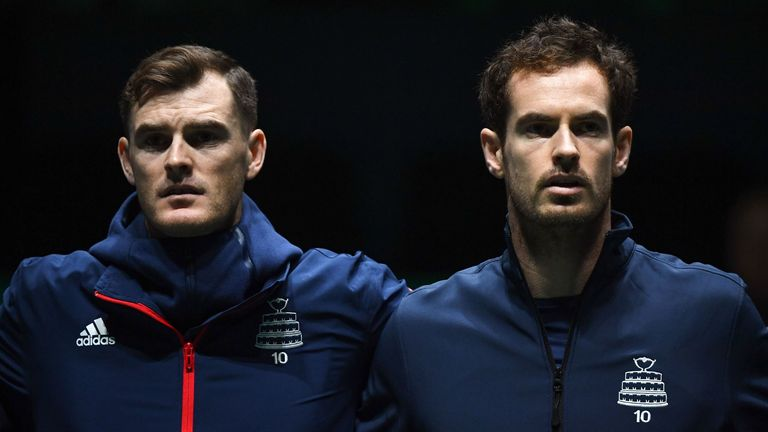 Jamie Murray says his brother Andy's reputation will be on the line when he makes his return in the 'Battle of the Brits'
