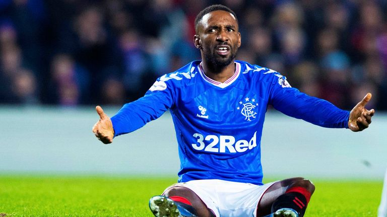 Jermain Defoe admits Rangers players struggled to explain loss of form after winter break