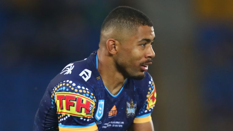 Kallum Watkins ended the Gold Coast Titans spell with his family in the UK