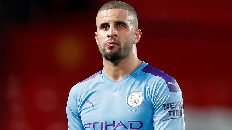 Manchester City's Kyle Walker apologizes after 'lockdown party'