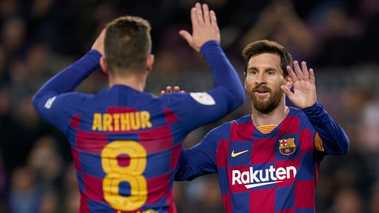 Lionel Messi has been reportedly linked with a move away from Barcelona