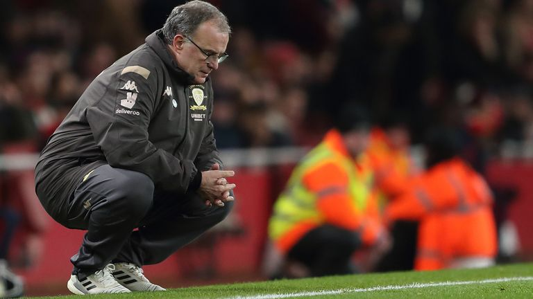 Leeds posted losses of £21.4m in Marcelo Bielsa's first season